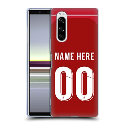 Head Case Designs Personalisierte Individuelle Liverpool Football Club Home Kit 2018/19 Soft Gel Huelle kompatibel mit Sony Xperia 5