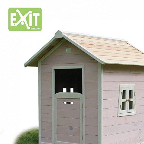 EXIT Beach 100 Spielhaus, aus Zedernholz, rosa