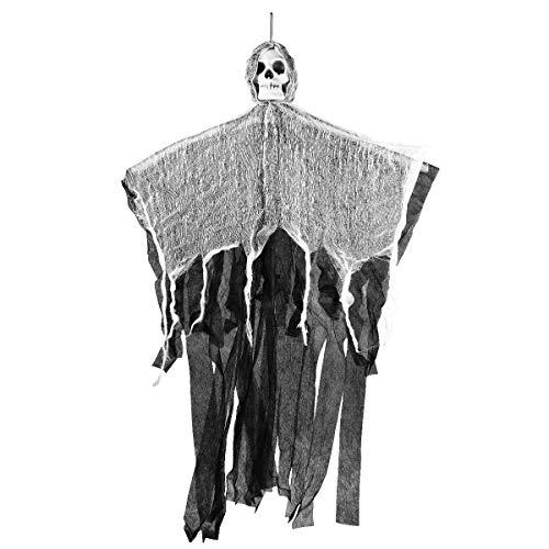 YeahiBaby Halloween Haunters Hanging Ghost Dekoration mit realistischen schwimmenden Ghoul Haunted House Prop Decor (Halloween Ghouls Hängen)