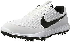 Nike Explorer 2 S, Golfschuhe, Weiß (White/Black), 45 EU (10 UK)