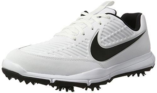 Nike Explorer 2 S, Golfschuhe, Weiß (White/Black), 46 EU (11 UK)