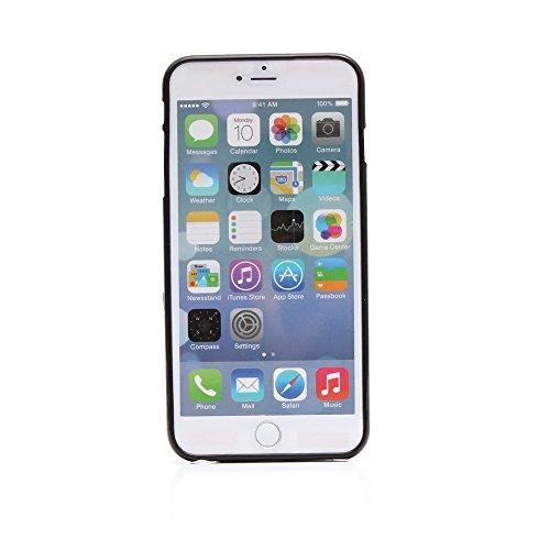 "Kit Me Out UK TPU Gel Case for Apple iPhone 6 Plus / 6S Plus 5.5"" Inch - Black / White Zebra Schwarz Rosa Blumen und Schmetterlinge"