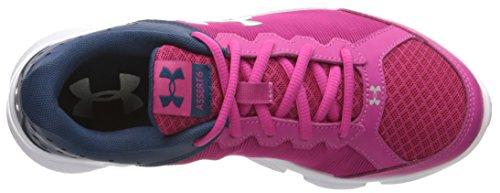 Under Armour UA Gps Assert 6, Chaussures de Running Compétition Fille Rose (Tropic Pink 654)