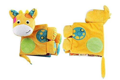 Tery Baby Kleinkind Spielzeug Kinderbett Spielzeug Multifunktionales Puzzle Baby / Kleinkind Spielzeug Brief Tuch Buch Activity Book