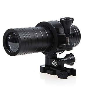 WINGONEER SJ2000 12Mp Full Hd 1080P H.264 Caméra Étanche Dv De Sport Avec 170 Degrés Objectif Grand-Angle (Noir)