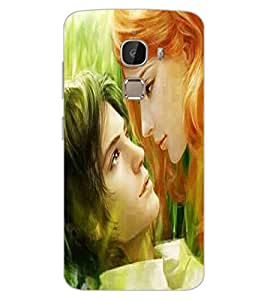 ColourCraft Romantic Couple Design Back Case Cover for LeEco Le 2 Pro