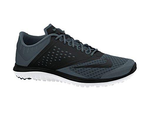 NIKE Chaussures Running Lite Run 2 Homme 42.5 Dk Magnet Grey/White/Black