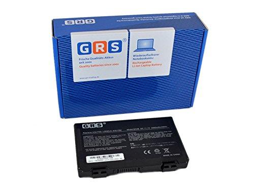 GRS Batterie A32-F82 pour Akku Asus X70 K50ij K70 K50 X66 X5D P50 K51 K40 X87 K61 F52 K7010 K60 X65 P81 X8A X5C F82 X5E, remplacé: A32-F52 L0690L6