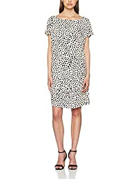 UNITED COLORS OF BENETTON Printed Woven Dress with Open Back, Robe Femme