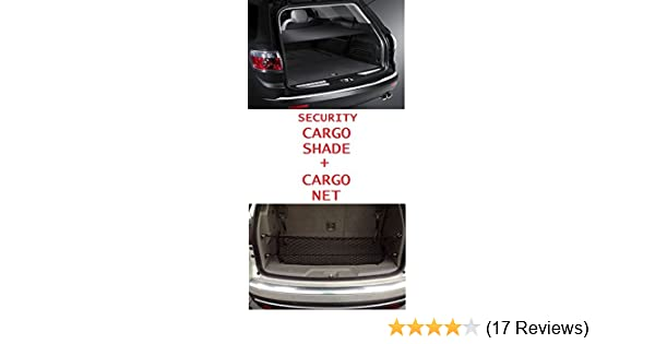 Trunknets Inc Cargo Security Flip Shade for Buick Enclave 2008 09 10 11 12 13 14 15 2016 Ebony