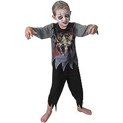 Rubies s–Disfraz de oficial Zombie Boy niños grandes