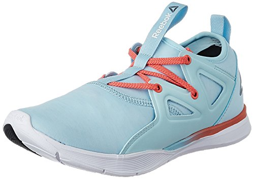 Reebok Women's Upurtempo 1.0 Blue/Coral/Pewter/White Dance Shoes -