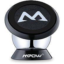 Mpow Supporto Auto Smartphone Magnetico 360° Girevole Sticky Portatile, Porta