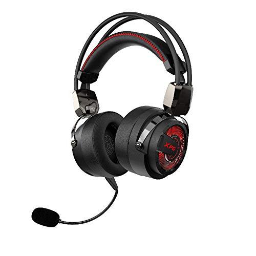 ADATA Precog - Auriculares para Juegos con cancelación de Ruido, Color Negro