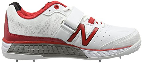New Balance Ck4050r1, Chaussures de Cricket Homme Blanc - Blanc