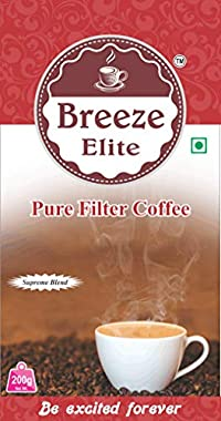 Breeze Elite Filter Coffee (200g x Pack of 2)