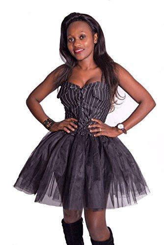 Women's Adult Tutu Skirts Petticoat Ballet Dress-Up Fancy Dress Mud Run Hen Party 3 Layer Underskirts for Evening Christmas Halloween