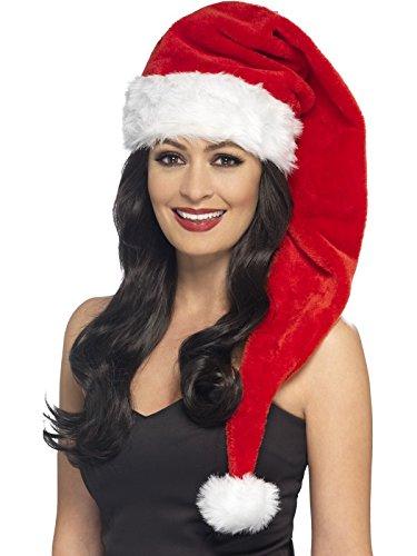 Preisvergleich Produktbild Smiffys Damen Weihnachtsmütze,  Lang,  One Size,  21383