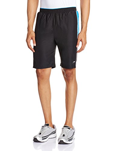 Proline Men's Polyester Shorts (8907007146484_PC09028_Large_Black)  available at amazon for Rs.375