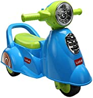 Luvlap - 18518 Wheelie Scooter Ride On for Kids, Battery Operated Music & Light, 12 Months + (B