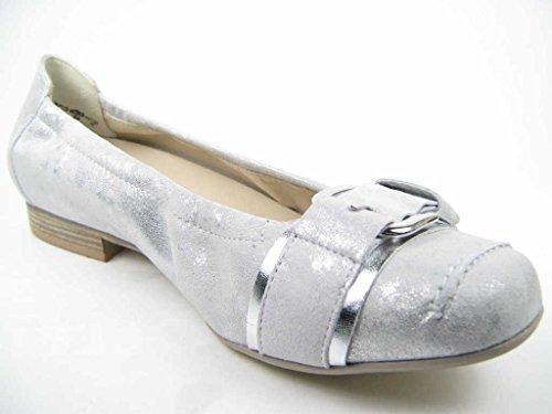 Semler  D5348-481-101, Ballerines pour femme Weiß