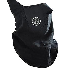 Ayouyou Außen Skimaske Warmen Halbmaske Winddicht Staubdicht Maske Outdoor Radfahren Ausrüstung (Schwarz)