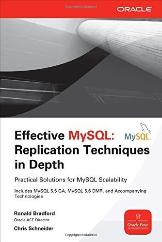 Effective MySQL Replication Techniques in Depth 1st edition by Bradford, Ronald, Schneider, Chris (2012) Paperback par Ronald, Schneider, Chris Bradford