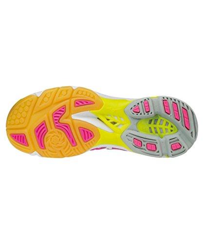 Mizuno Damen Wave Lightning Z4 Wos Volleyballschuhe, Bianco pink (315)