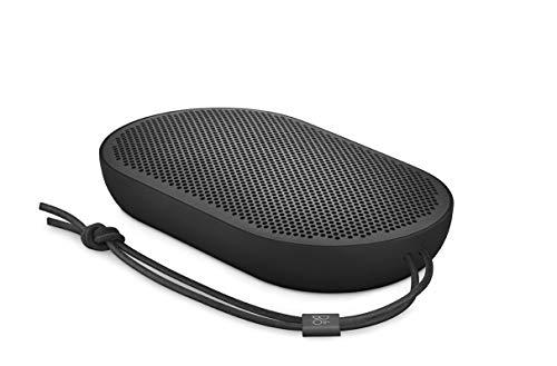 Altoparlante Bluetooth portatile Beoplay P2 di B&O PLAY by Bang & Olufsen con microfono incorporato, Nero