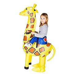 Idea Regalo - Bodysocks® Costume Gonfiabile da Giraffa per Bambini