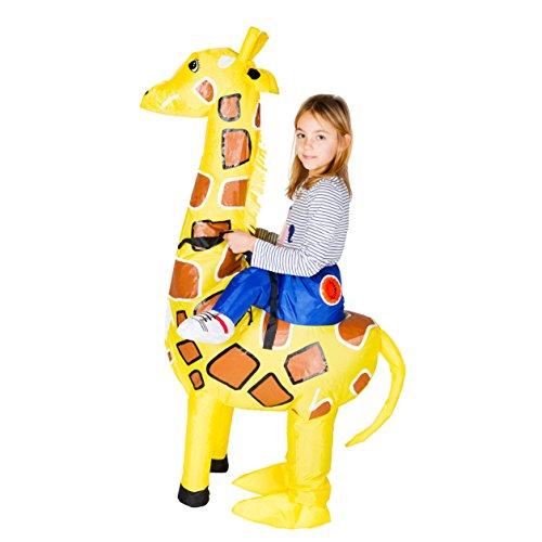 (Bodysocks® Aufblasbares Giraffe Kostüm für Kinder)