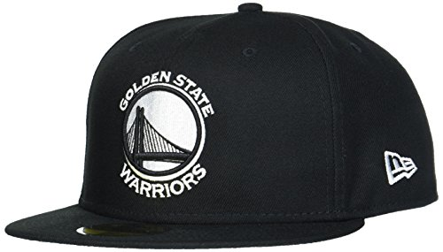 New Era Uomo 59FIFTY Fitted League Basic Golden State Warriors NBA Cappello  Nero Black d7cd90eac39