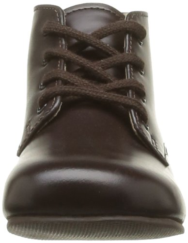 Start Rite Adam, Chaussures montantes mixtes bébé Marron (Brown Leather)