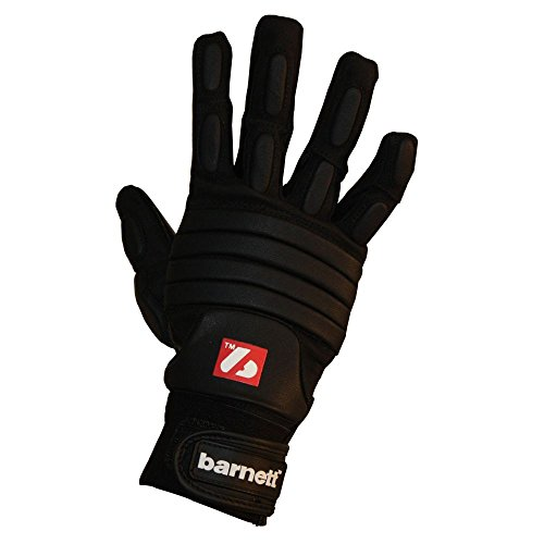 Barnett FLG-03 American Football Handschuhe Linemen Profi, OL,DL Black
