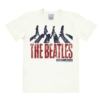 The Beatles - Abbey Road Vintage Easyfit T-shirt - blanc antique - Design original sous licence - LOGOSHIRT, taille S
