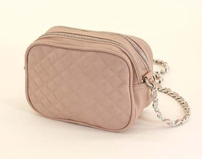 Abendtasche mit Kette, modische Handtasche, Milla Tasche, aus Kunststoff, rosa