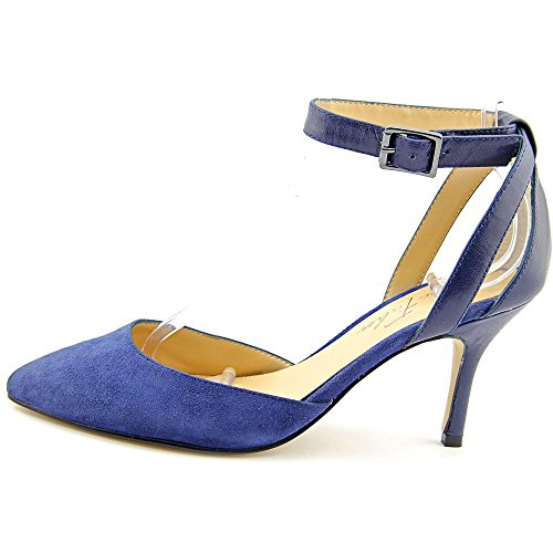 Marc Fisher Hien Daim Talons Blue Multi