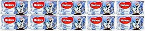 10x Huggies Disney Frozen Wipes - 56