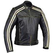 e791ef3bfd5c9 Australian Bikers Gear Retro Style  The Bonnie  - Chaqueta de moto