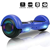 Jolege Hoverboard 6.5' Self Balance Scooter Elettrico con LED, 2 * 300W Motore,...