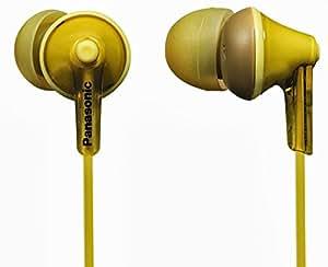 Panasonic RP-HJE123P1Y Earphone (Yellow)