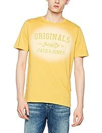 Jack & Jones Men's Jorstencild Tee SS Crew Neck T-Shirt