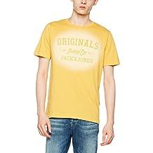 JACK & JONES Jorstencild Tee SS Crew Neck, Camiseta Para Hombre