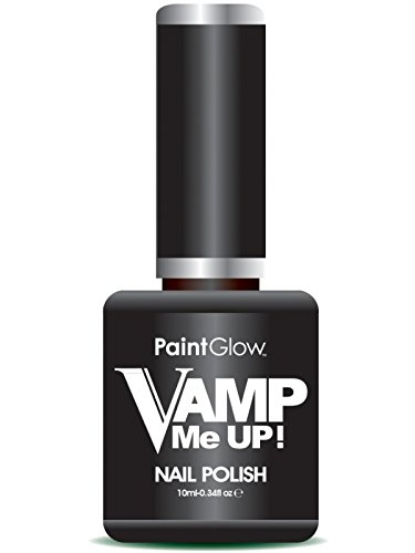 paintglow ausstich Me Up Nagellack, Blatt schwarz 10ml Deep Hard Coat