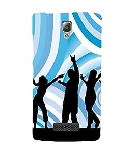 Music Fun Dance 3D Hard Polycarbonate Designer Back Case Cover for Lenovo A2010