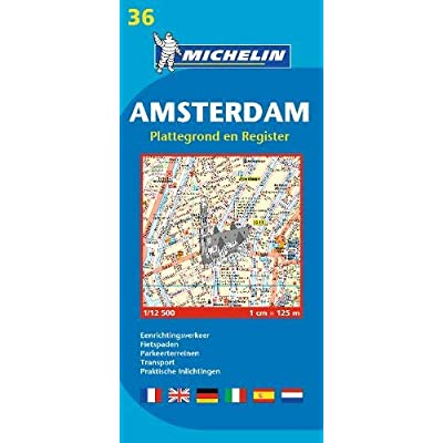 Plan Michelin Amsterdam