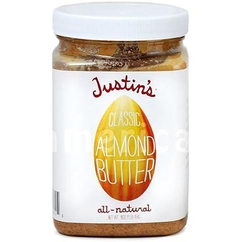 Dado tutto naturale burro di Justin (burro di mandorle) di Justin [merci di importazione parallela]