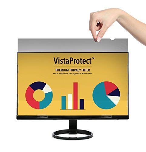 "VistaProtect – Premium Blickschutzfilter, Privacy Filter & Blickschutzfolie für Computermonitore (20.1\"" Zoll)"