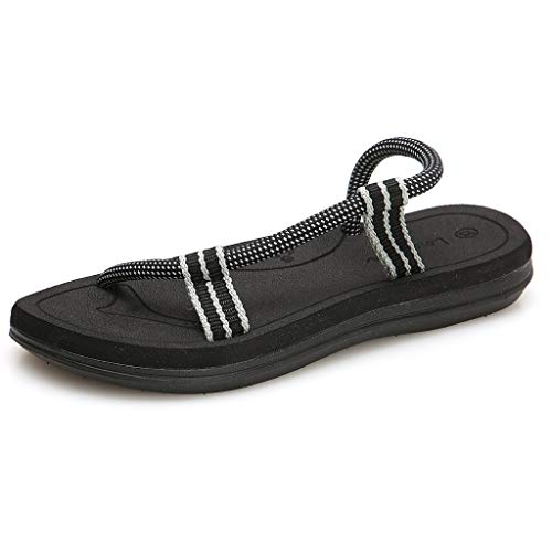 0328683fd Chancla,Internet_Talón Delgado Zapatos de Playa para Mujer,Sandalias de  Corcho Casuales para Hombre