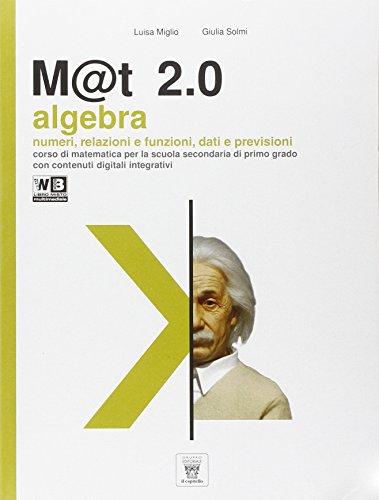 M@t 2.0. Per la Scuola media. Con e-book. Con espansione online: 3
